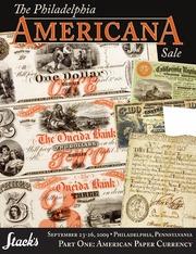 The Philadelphia Americana Sale, Part One