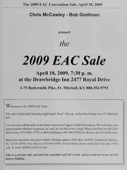The 2009 EAC Convention Sale