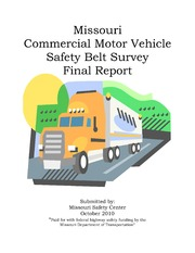Missouri Motor Vehicle Safety Inspection Regulations