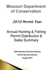 Missouri department of conservation annual hunting for Mo fishing license