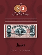 The 52 Collection, Art & Security on American Paper Currencies