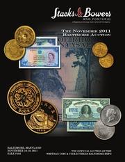 The November 2011 Baltimore Auction