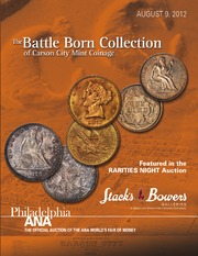 The Battle Born Collection of Carson City Mint Coinage