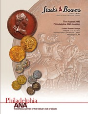 The August 2012 Philadelphia ANA Auction, United States Coinage