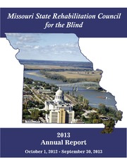 Missouri State Rehabilitation Council For The Blind Annual