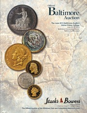 The June 2013 Baltimore Auction, United States Coinage