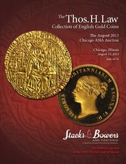 The Thos. H. Law Collection of English Gold Coins