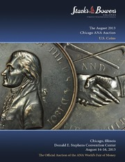 The August 2013 Chicago ANA Auction, U.S. Coins