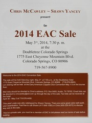 The 2014 EAC Convention Sale