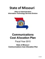State of Missouri Communications Cost Allocation Plan Fiscal Year 2015