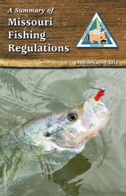 A summary of missouri fishing regulations 2011 missouri for Missouri non resident fishing license