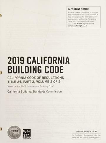 2019 california building code pdf free download