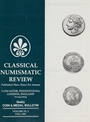 The Classical Numismatic Review: Vol. 20 No. 3
