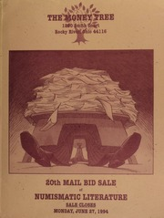 20th mail bid sale of numismatic literature, featuring important consignments from Jeff Rock, Jack Collins, Del Bland, David Cohen, [etc.] ... [06/27/1994]
