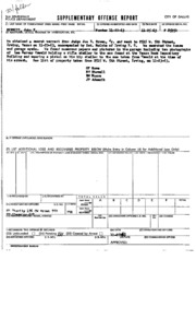 JFK Assassination DPD File 2152