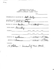 JFK Assassination DPD File 2170