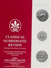 The Classical Numismatic Review: Vol. 21 No. 2