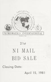 21st NI Mail Bid Sale