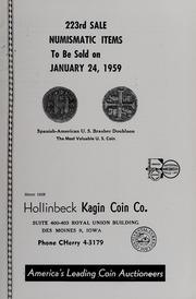 223rd Sale Numismatic Items
