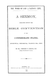 The word of God a nation's life : a sermon, preached before