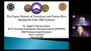 The Paper Money of Louisiana and Puerto Rico during the Late 18th Century