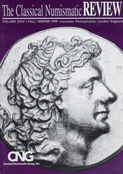 The Classical Numismatic Review: Vol. 24
