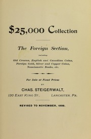 $25,000 Collection The Foreign Section ..., November 1908