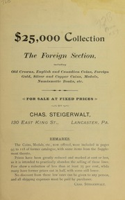 $25,000 Collection The Foreign Section, No. 57B