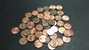 $25 Penny Box - Lots of Wheats Coin Roll Hunting Pennies!!!