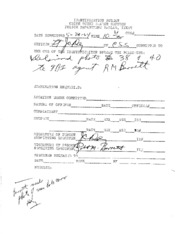 JFK Assassination DPD File 2622