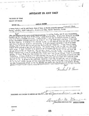 JFK Assassination DPD File 2862