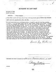 JFK Assassination DPD File 2884