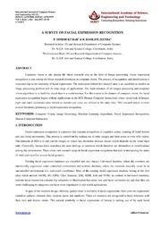 3. IJCSE Survey Paper 1 Dinesh