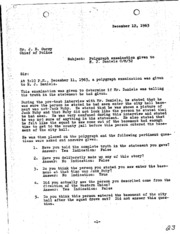 JFK Assassination DPD File 3090