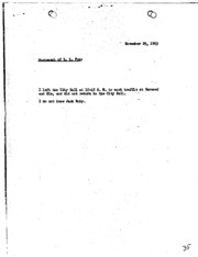 JFK Assassination DPD File 3109