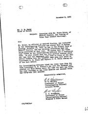 JFK Assassination DPD File 3161