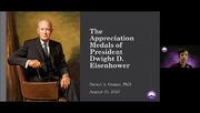 The Appreciation Medals of President Dwight D. Eisenhower