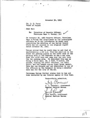 JFK Assassination DPD File 3275