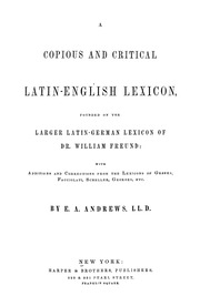 English Latin Lexicon 34