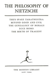 nietzsche genealogy of morals essay