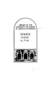 Vol 7: Sämtliche Schriften und Dichtungen microform