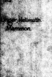 Mammon microform : Komödie in vier Akten