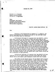 JFK Assassination DPD File 3446