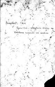 Sprachlich-stilistische Studien zu Brentanos Romanzen vom Rosenkranz microform