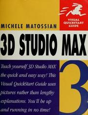3d studio max 3 matossian michele free download for 3d studio max download