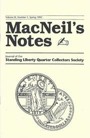 MacNeil's Notes: Vol. 3 No. 1