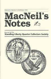MacNeil's Notes: Vol. 3 No. 3