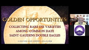 Golden Opportunities: Collecting Rare Die Varieties among Common Date St. Gaudens Double Eagles