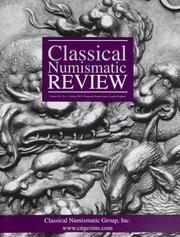 The Classical Numismatic Review: Vol. 40 No. 1