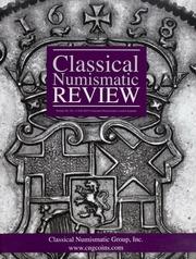 The Classical Numismatic Review: Vol. 40 No. 3